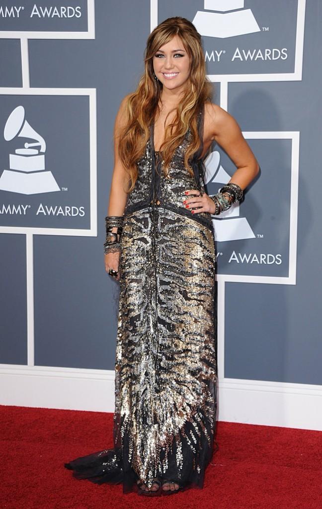 Miley Cyrus, du glitter sinon rien !