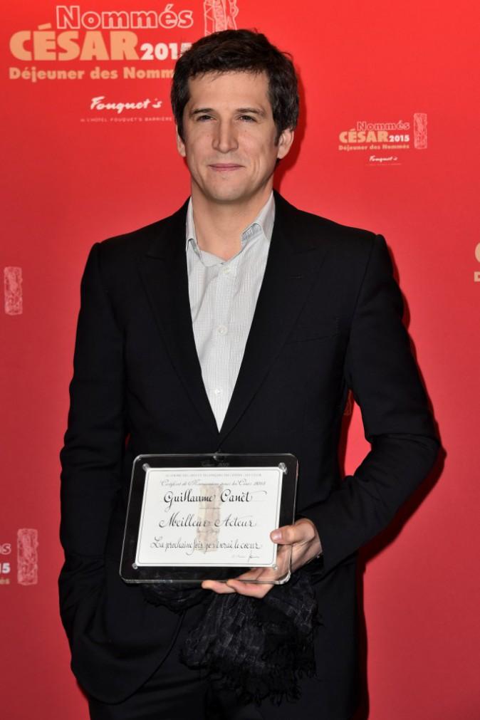 Photos : Guillaume Canet : nommé au César ? Merci Marcel !