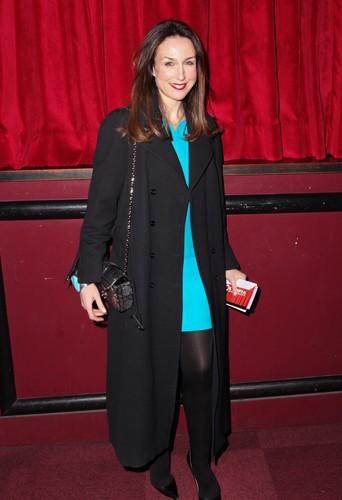 Elsa Zylberstein à Paris le 23 décembre 2013