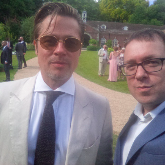 Guy Ritchie a épousé sa belle Jacqui, David Beckham et Brad Pitt étaient de la partie !