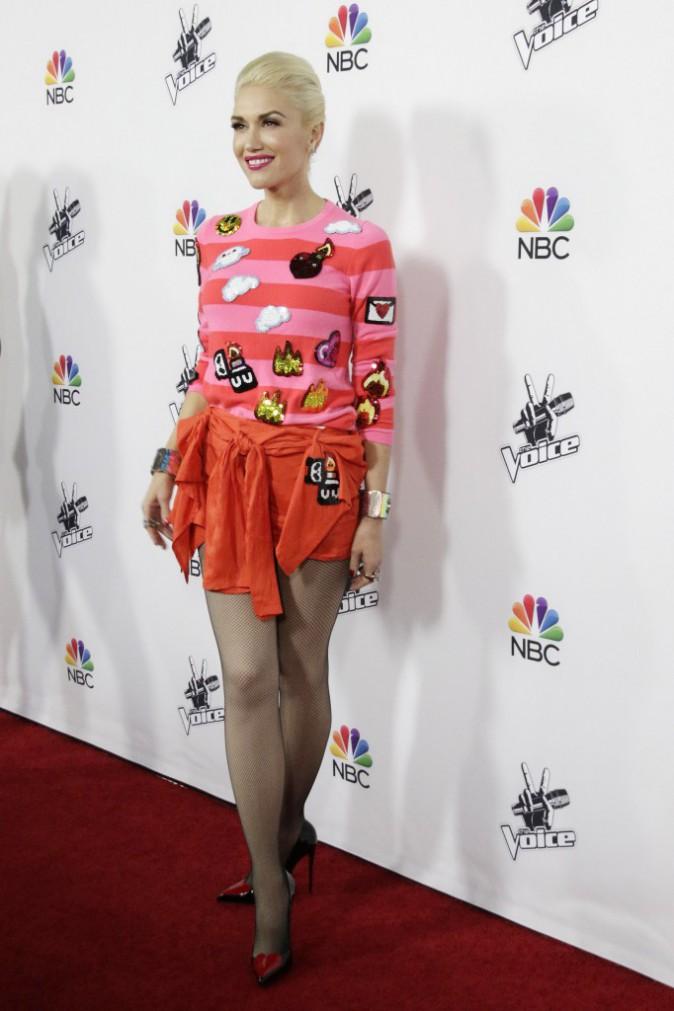 Gwen Stefani le 9 décembre 2014