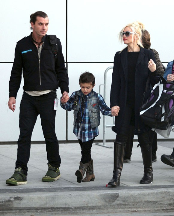 Avec des parents comme Gavin et Gwen, il a de qui tenir !