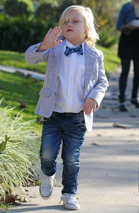 Gwen Stefani en famille à Los Angeles pour Thanksgiving le 22 novembre 2012