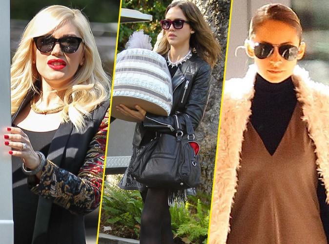 Gwen Stefani : elle fait le plein de stars super stylées (Jessica Alba, Nicole Richie...) et de cadeaux à sa baby shower !