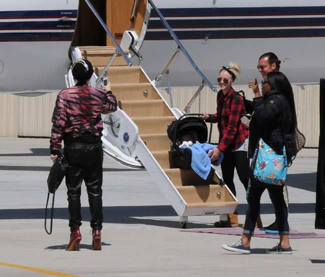 Gwen Stefani à Los Angeles le 26 avril 2014