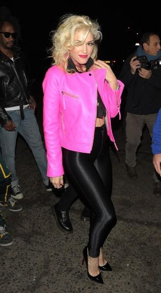 Gwen Stefani, Londres, 31 octobre 2012.