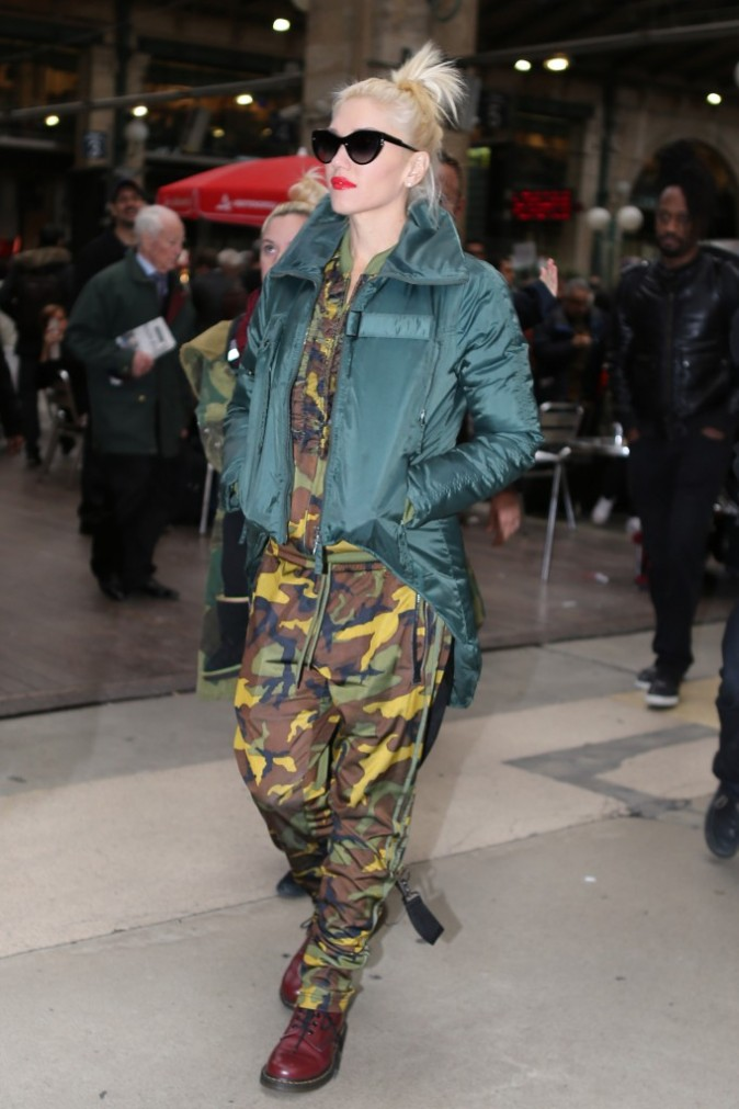 En mode camouflagee !
