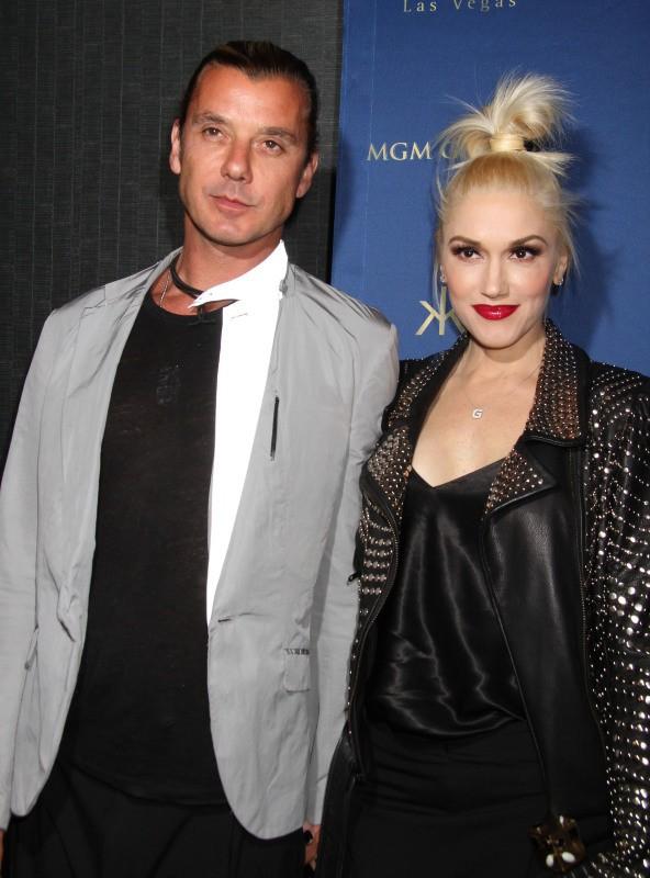Gwen Stefani et Gavin Rossdale au Hakkasan à Las Vegas, le 26 avril 2014.