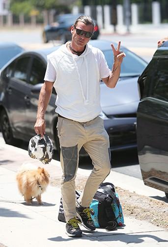 Gavin Rossdale à Los Angeles le 25 mai 2014
