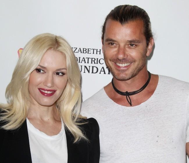 """Gwen Stefani et son mari Gavin Rossdale lors de l'événement """"A Time For Heroes"""" à Los Angeles, le 2 juin 2013."""