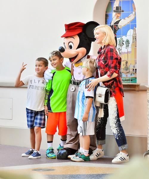 Photos : Gwen Stefani : sur tous les fronts pour ses enfants !