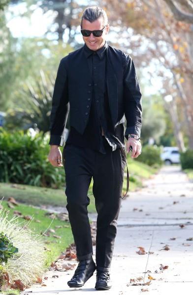 Gavin Rossdale prêt à fêter Thanksgiving,  Los Angeles, le 28 novembre 2013