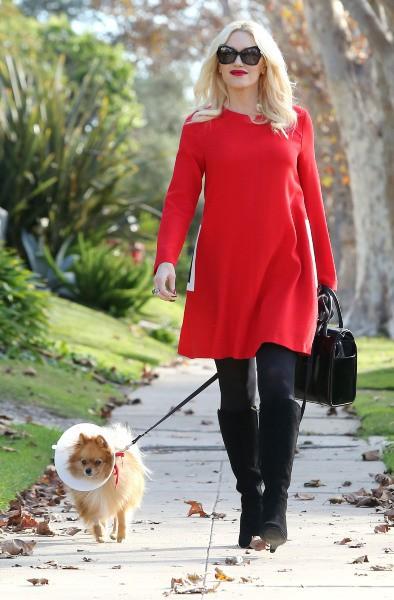 Gwen Stefani prête à fêter Thanksgiving,  Los Angeles, le 28 novembre 2013