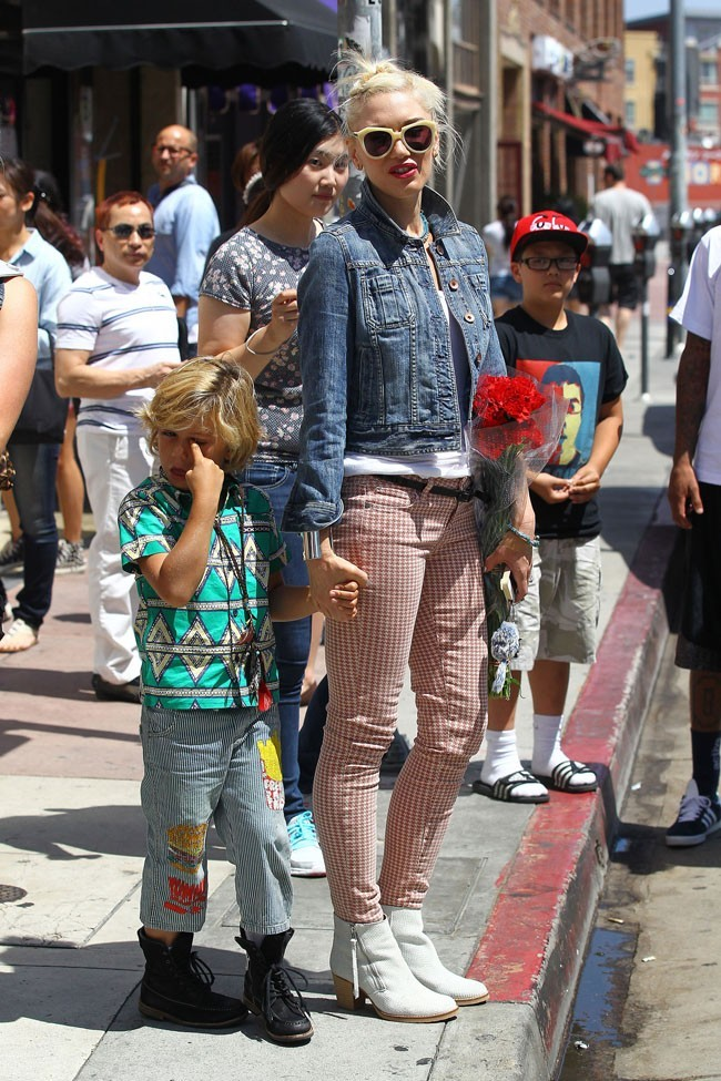 Gwen Stefani le 13 mai 2012 à Los Angeles