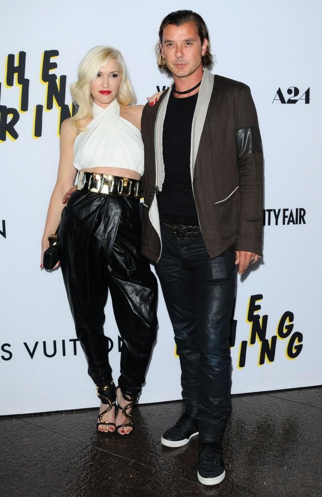 """Gwen Stefani et Gavin Rossdale lors de la première du film """"The Bling Ring"""" à Los Angeles, le 4 juin 2013."""