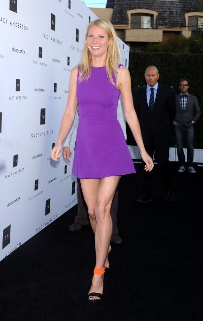 Gwyneth Paltrow lors de l'inauguration du studio flagship de Tracy Anderson à Brentwood, le 4 avril 2013.