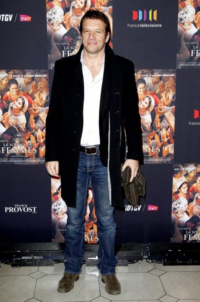 Samuel Le Bihan lors de la première du film La Source des Femmes à Paris, le 24 octobre 2011.