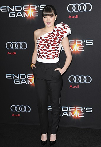 Hailee Steinfeld à Los Angeles le 28 octobre 2013