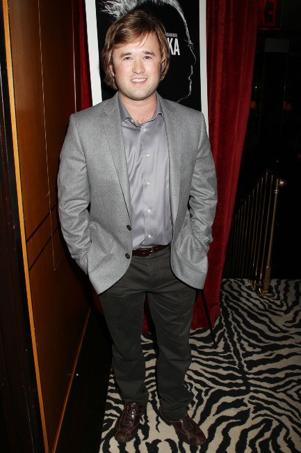 "Haley Joel Osment lors de l'after-party de la première du film ""Nebraska"" à New York, le 10 octobre 2013."
