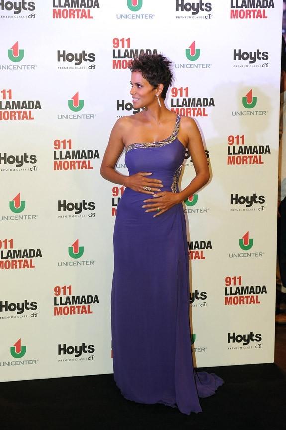 Halle Berry à Buenos Aires pour la promotion de The Call le 8 avril 2013