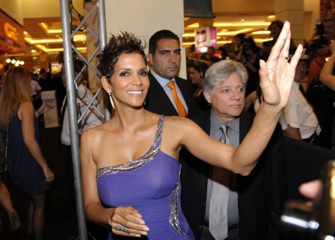 Halle Berry à Buenos Aires pour la promotion de The Call le 8 avril 2013