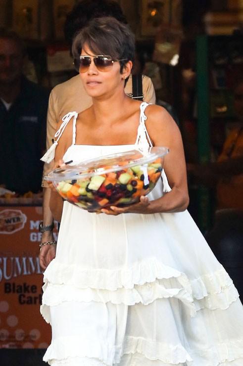 Halle Berry à West Hollywood le 27 juillet 2013