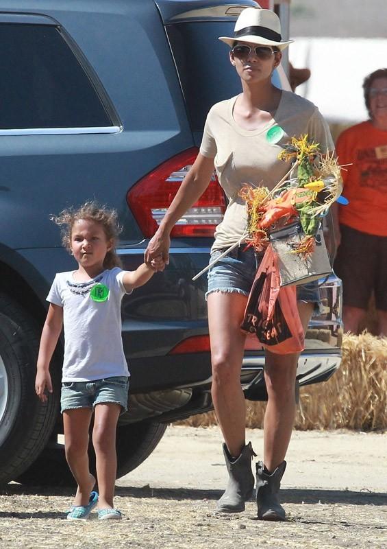 Halle Berry et Gabriel Aubry se retrouvent pour Nahla