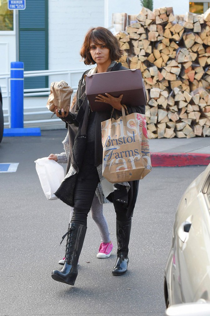 Halle Berry le 12 janvier 2015