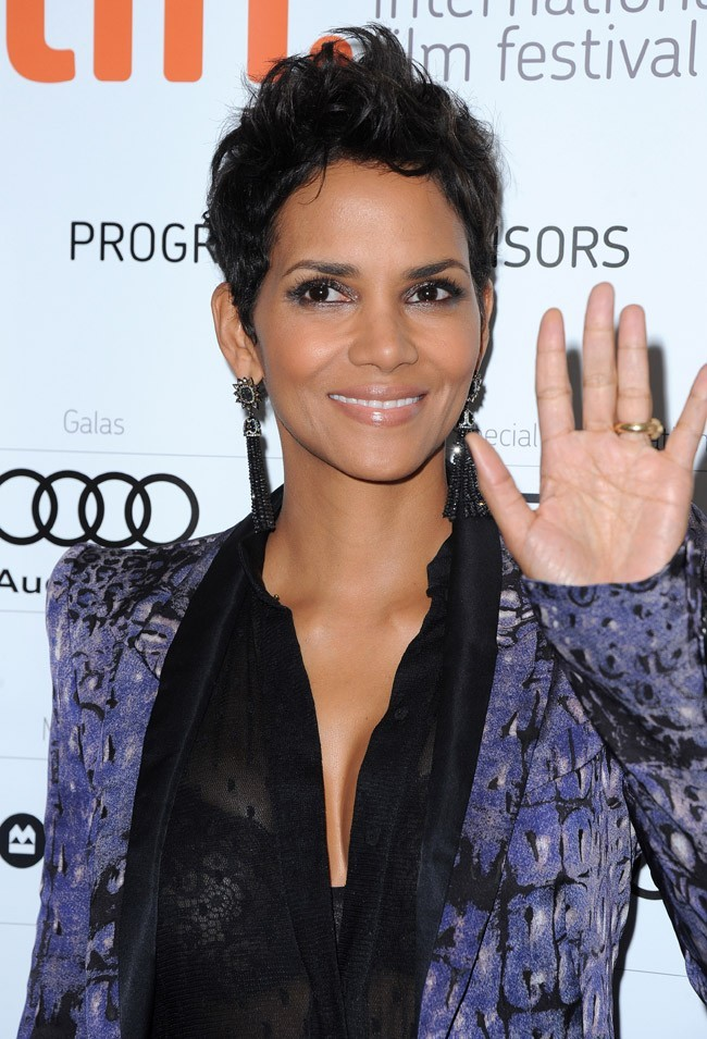 Halle Berry au Festival International du Film de Toronto le 8 septembre 2012