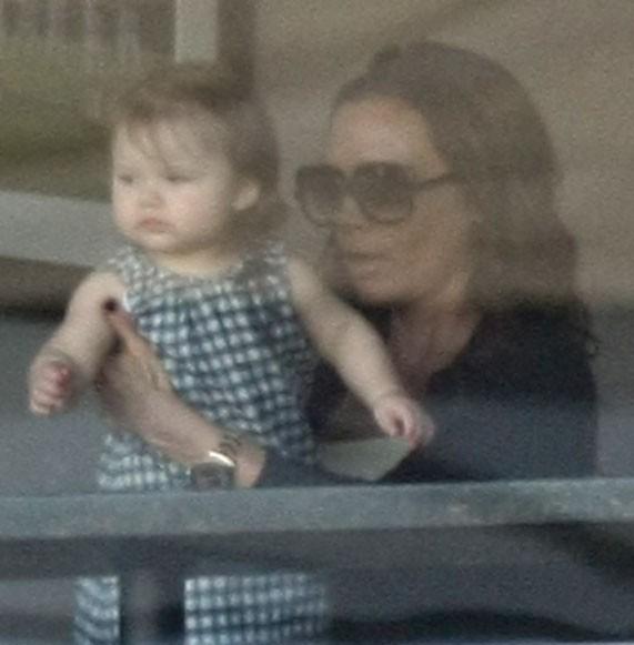 Harper Seven avec maman Victoria !