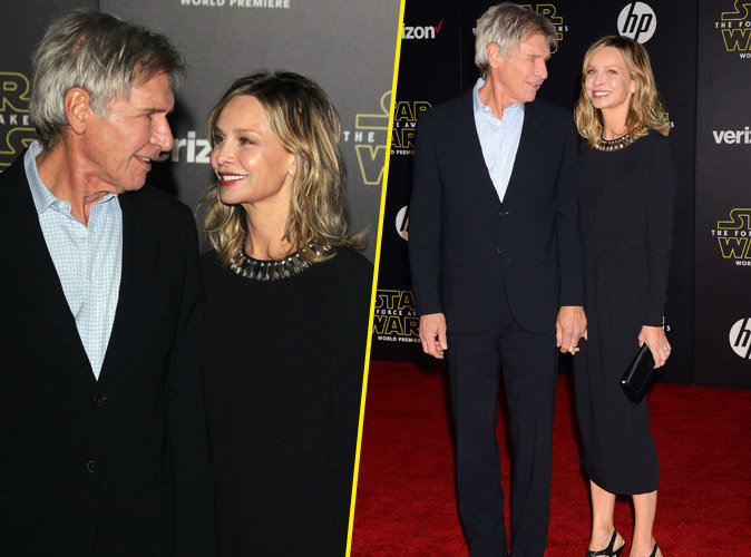 Photos : Harrison ford et Calista Flockhart amoureux sur le red carpet