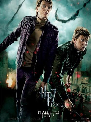 Les Jumeaux Weasley (James et Oliver Phelps)
