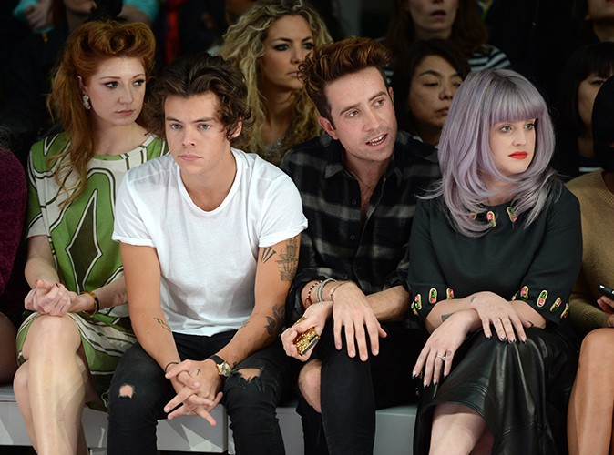 Harry Styles et Kelly Osbourne à Londres le 14 septembre 2013