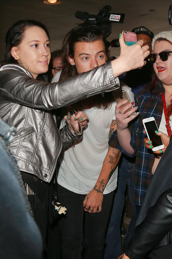 Harry Styles débarque à L.A.