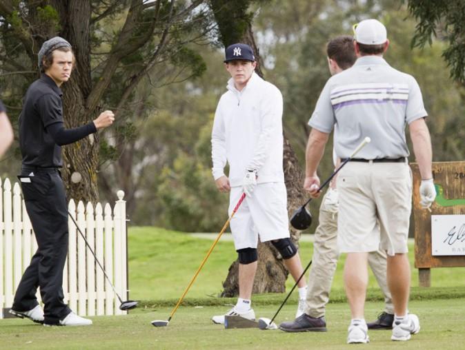 Niall Horan et Harry Styles à Adelaïde le 23 septembre 2013