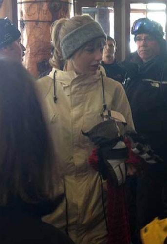Harry Styles et Taylor Swift en vacances au ski !