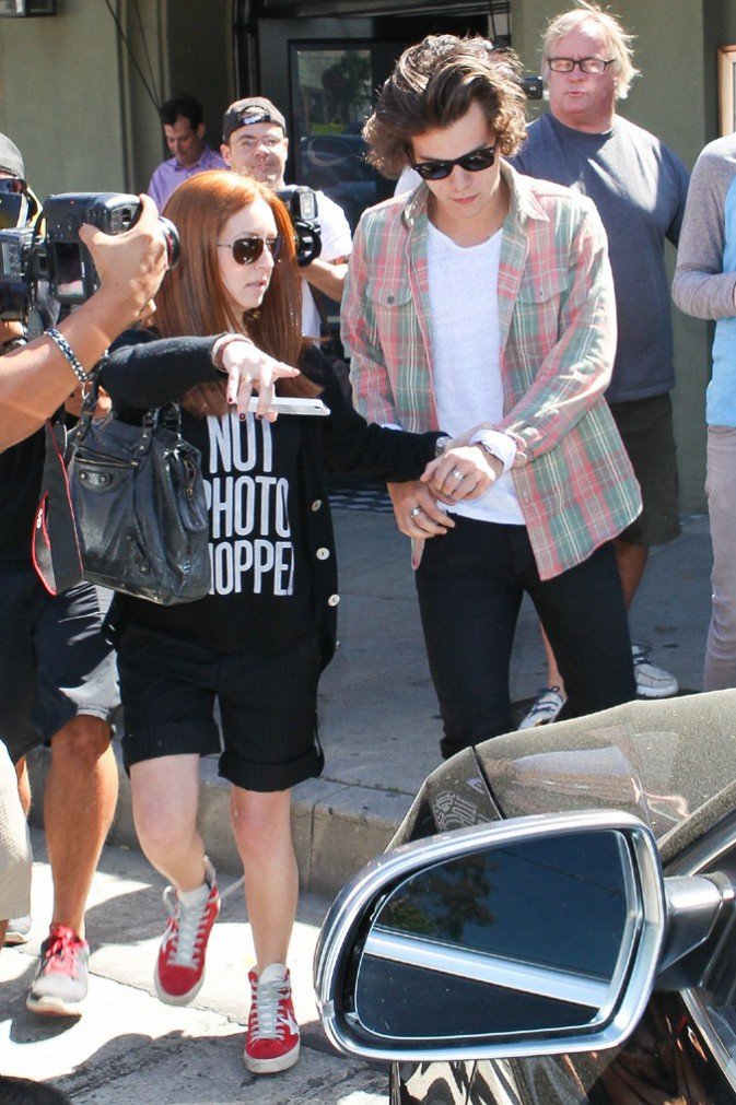 Harry Styles à Los Angeles le 12 mars 2014