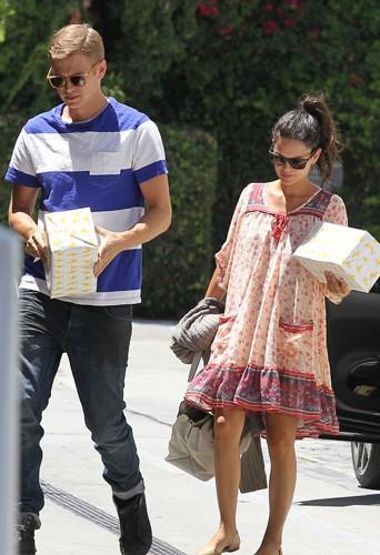 Hayden Christensen et Rachel Bilson à Los Angeles le 21 juin 2014