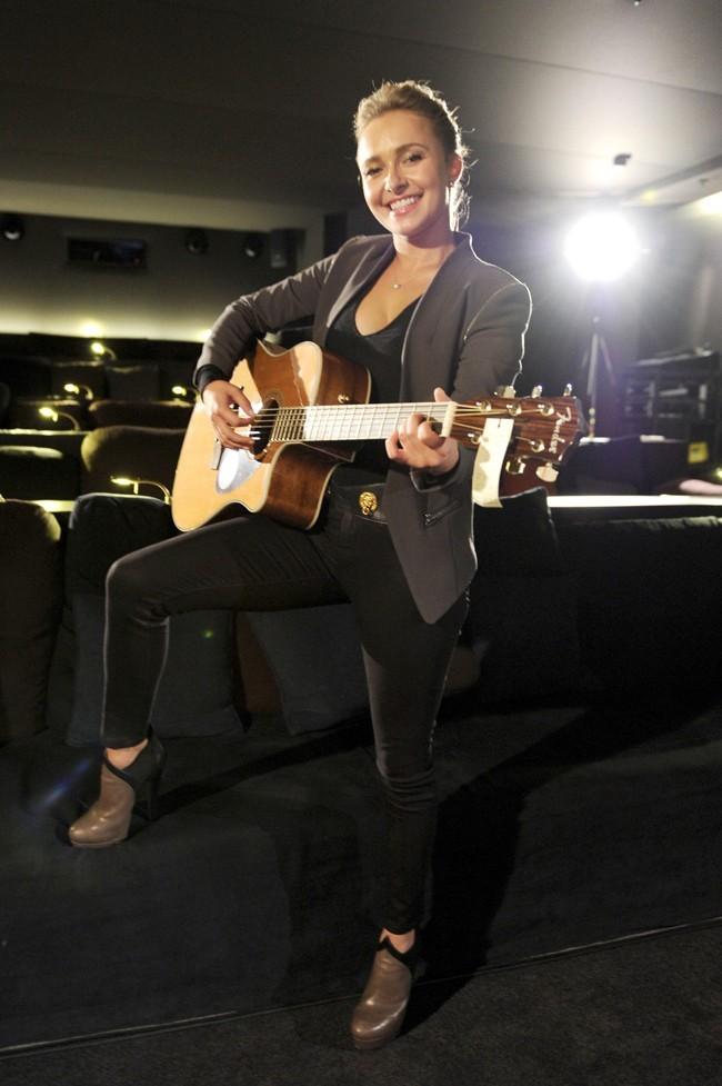 Hayden Panettiere fait la promotion de la série Nashville à Munich le 3 juin 2013