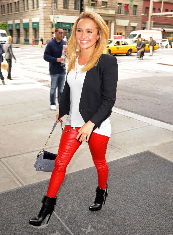Hayden Panettiere à New York, le 9 octobre 2013.