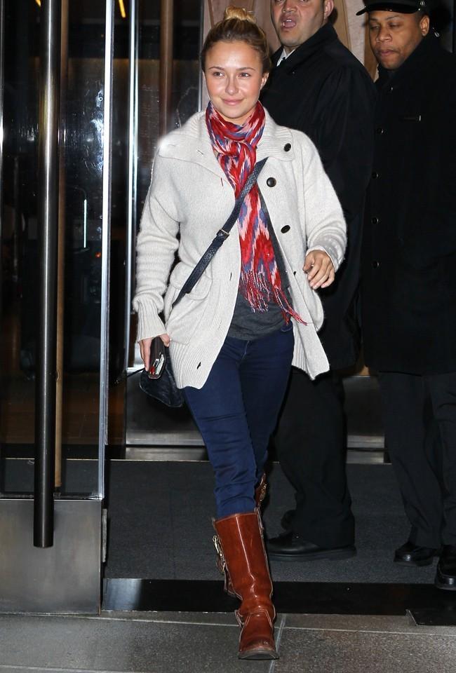 Hayden Panettiere le 16 octobre 2012 à New York