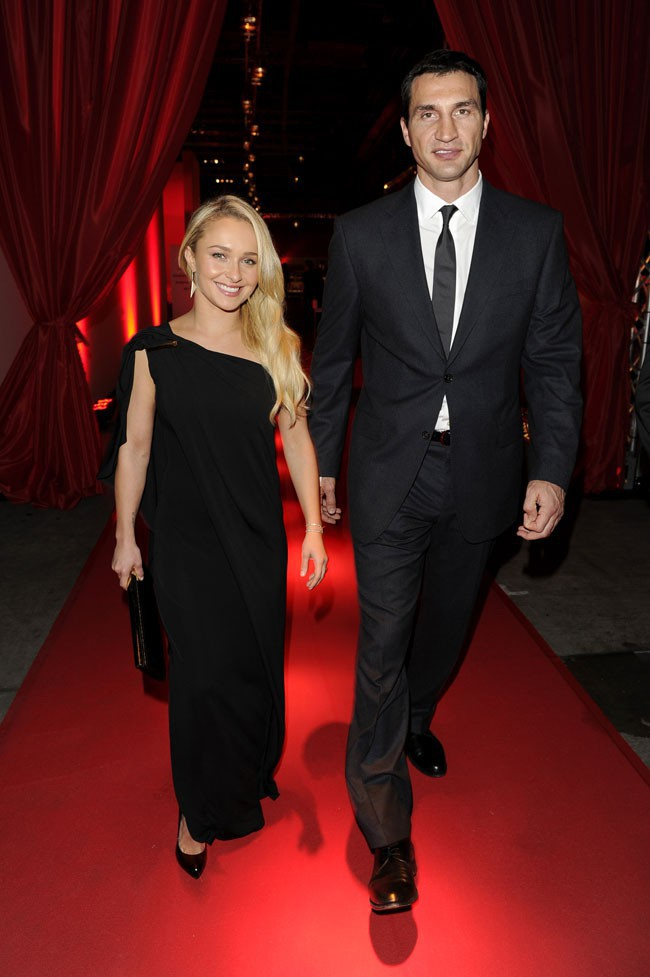 Hayden Panettiere et Wladimir Klitschko à Berlin le 7 décembre 2013