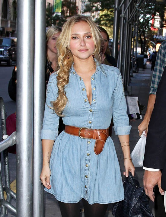 Hayden Panettiere à New-York le 16 octobre 2012