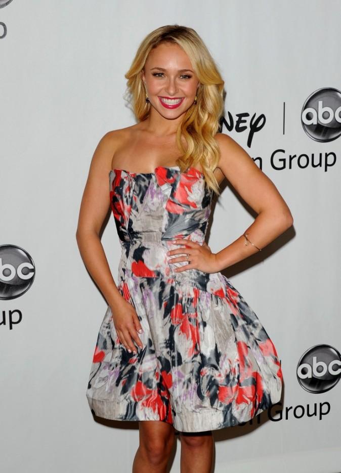 Hayden Panettiere lors de la soirée ABC à Hollywood, le 27 juillet 2012.