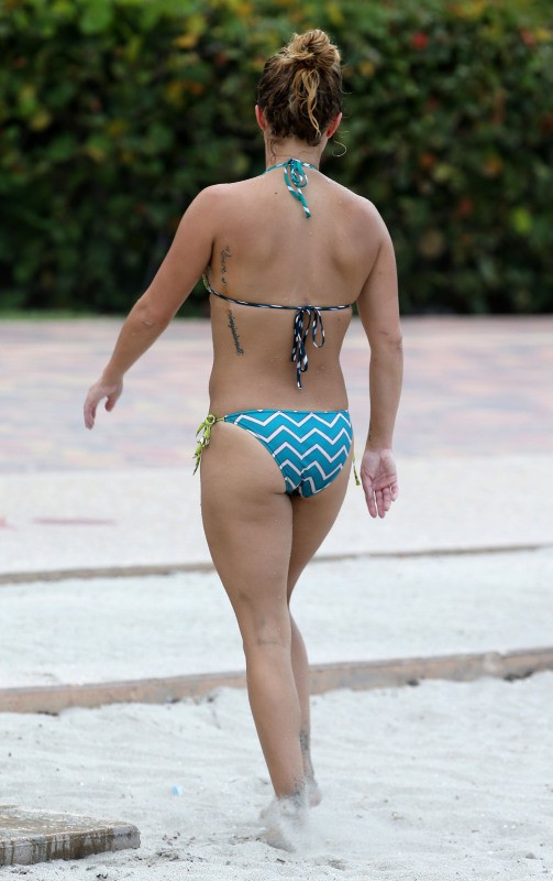 Hayden Panettiere en week-end à Miami, le 1er septembre 2013.