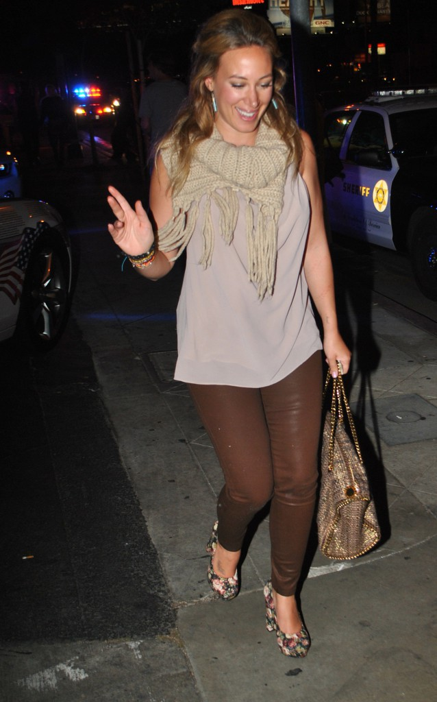 Haylei Duff en 2012