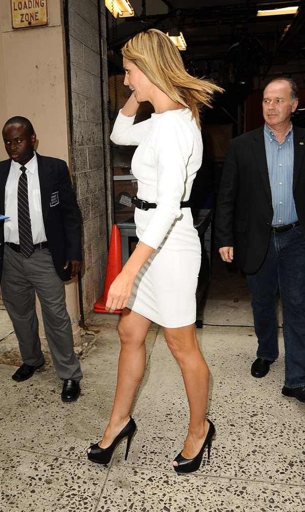 Heidi Klum le 19 juillet 2012 à New York