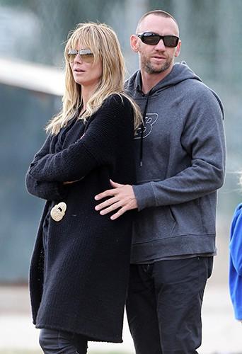 Heidi Klum en famille à Los Angeles le 16 novembre 2013