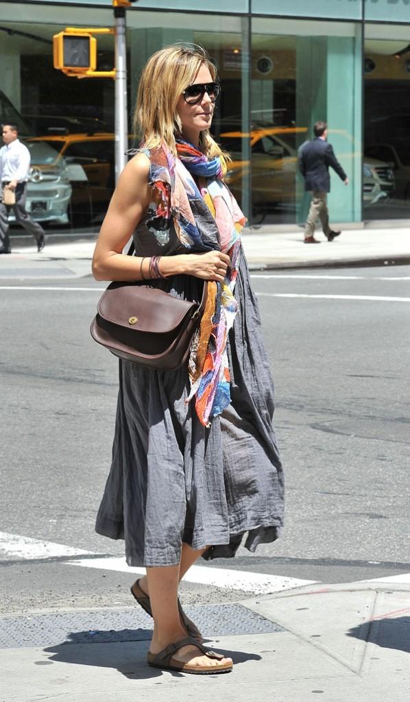 Heidi Klum le 28 juin 2012 à New York