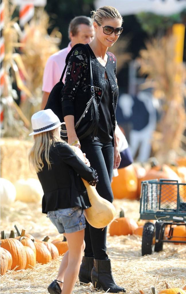 Heidi Klum le 6 octobre 2012 à Los Angeles